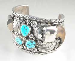 Native American Silver Jewellery  image